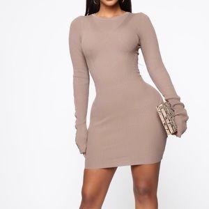 Mocha nights dress